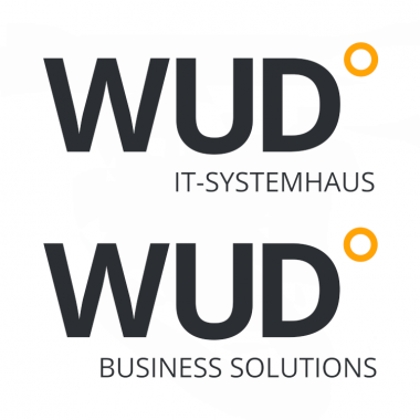 Firmenlogos WUD IT-Systemhaus und WUD Business Solutions GmbH