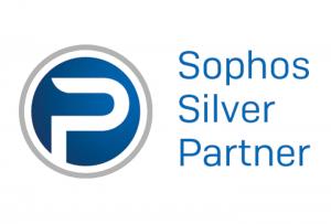 Logo Sophos Silver Partner WUD, eines der IT-Produkte von WUD