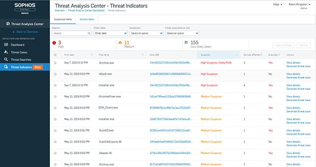 EDR IT-Sicherheit - Automatische Bedrohungserkennung bei Sophos