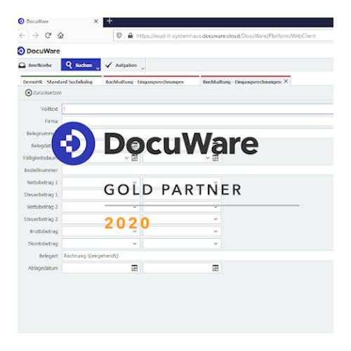 Nächstes Digitales Office-DocuWare Partnerlogo