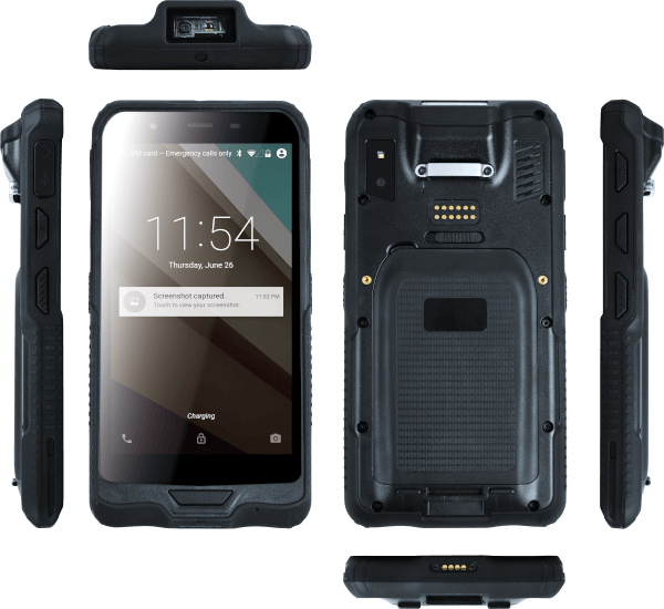 Pokini Rugged Tablets-der Pokini Tab FS6 in Handyformat