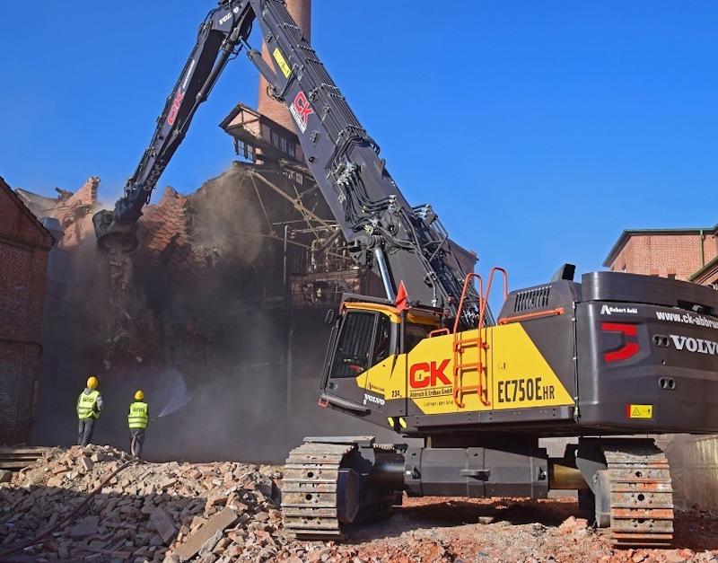 DocuWare-Referenzbericht CK Abbruch-Hauptbild einer Baustelle-mobil