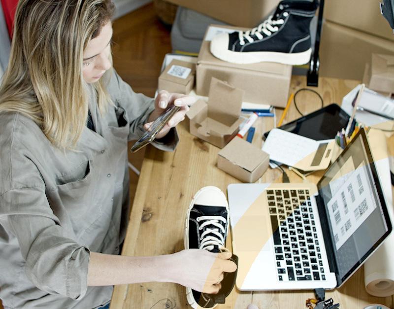 SAP Business One Starter Package-ein Startup Unternehmen nutzt eine ERP-Software-mobile Ansicht